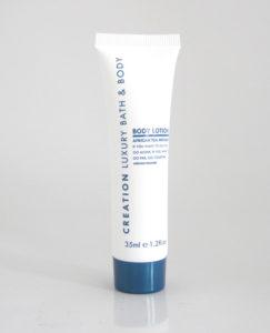 Creation Blue 35ml Tube Body Lotion (Pack 30, Box 98)