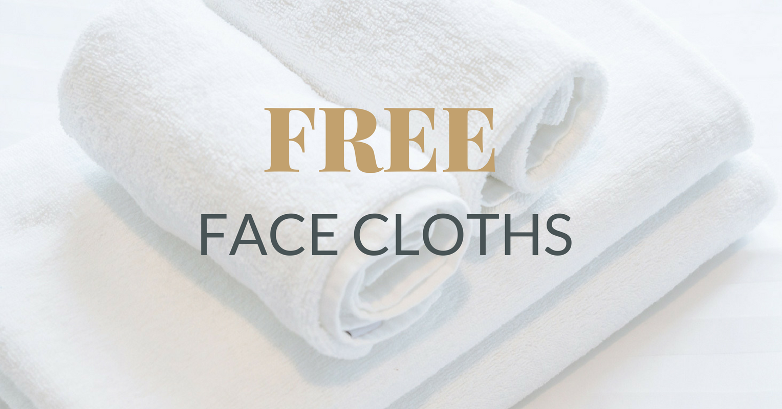 Free Nortex Face Cloths